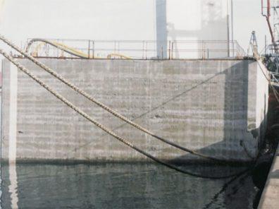 Construcción Cajonero de Hormigón Dique mar de Aneto